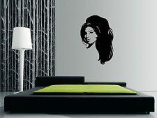 """AMY WINEHOUSE Wall Art Sticker, Decal. 80 x 54cms (32 x 21""""). Stunning design"""
