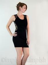 BLQ MKT Revealing Sides Little Black Dress Mini Dress