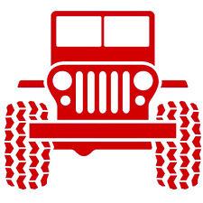 Jeep for Macbook Laptop Car Window Truck Wall Helmet Door Vinyl Decal Sticker