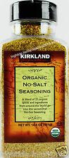 Kirkland Organic No Salt Seasoning 21 Spices 14.5 OZ (411g), 1 2 3 or 4 Jars