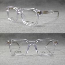 Vintage Acetate Full Rim Square Eyeglass Frames Men Women Rx Hand Made Glasses