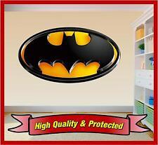 Batman Logo - Wall Art Printed Vinyl Sticker Decal Childrens Bedroom Boys Girls