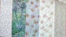 2 x A4 Vellum 112gsm Choice of White Manuscript/Teasel/Dandelion x 2  NEW