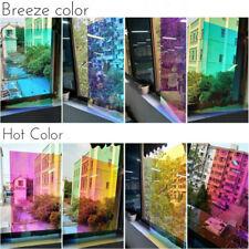 Pellicola trasparente Dichroic Dicroica adesiva arcobaleno vetrate cambio colore