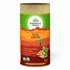 Organic India ( 100 gm/3.52 oz ) Ginger-Tea-Tulsi Herbal Infusion Free Shipping