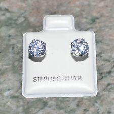 Cz 925 Sterling Silver Hypoallergenic Earrings For Sensitive Ears