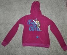 NWT $34-Jr. Girls Disney Tinkerbell Im Cute Fleece Hoodie Sweatshirt- S M L XL