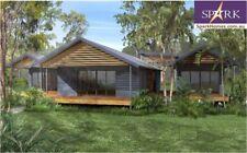 Sloping Land  Plan 239, 4 Bedrooms - Size 222, TIMBER FRAME KIT