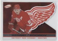 2001-02 Pacific Atomic #35 Sergei Fedorov Detroit Red Wings Hockey Card