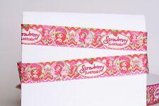 "STRAWBERRY SHORTCAKE 7/8"" Grosgrain Ribbon Various Yard SHIP FROM USA"