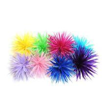 FM093 Feather Mount Spiky Goose Biot Flower - For fascinators, hats & craft use