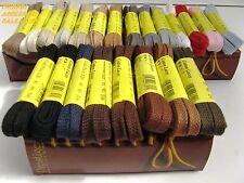 Lacci Stringhe Per Scarpe in cotone Piatti Cm.90 per 6-7 fori