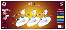 GE Lighting 47697 Relax HD LED Light Bulbs, Soft White, 9-Watt, 750 Lumens,