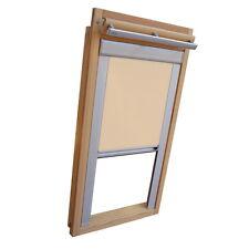 Sichtschutzrollo Schiene Dachfensterrollo für Velux GGL/GPL/GHL - beige-karamell