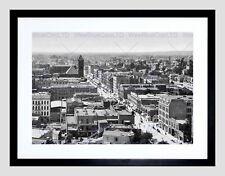 85516 LOS ANGELES 1897 VINTAGE HISTORY OLD BW BLACK Decor WALL PRINT POSTER CA