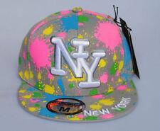 New York NY City Hunter GRIGIO CAPPELLO SU MISURA A MACCHIE dipinte 6c5e1ff66917
