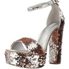 Sandales pour femme STEVE MADDEN 79814, Color Argent
