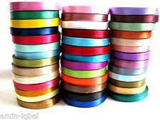 6m Satinband /0,29€ pro Meter/10mm breit,in verschiedenen Farben