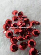 1440 Hotfix  Metallstuds zum aufbügeln 3mm Rot oder zur Farbwahl  Bügelnieten