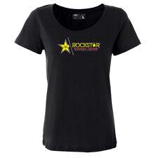 Factory Effex Rockstar Split Women's T-Shirt Black S-XL