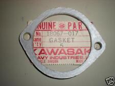 NOS Kawasaki 1971 F6 F7 Exhaust Pipe Gasket 18067-017