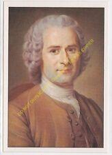 CP Postcard MAURICE QUENTIN DE LA TOUR Portrait de Jean Jacques Rousseau