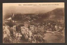 PORT-LESNEY (39) VILLAS , vue aérienne en 1925