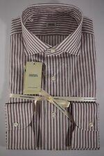 ALESSANDRO GHERARDI camicia UOMO classica COTONE righe tg. 40-43-44-46 NWT