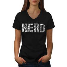 Learn Computer Parts Geek Women V-Neck T-shirt NEW | Wellcoda