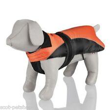 Nizza Padded Winter Dog Coat - Black Orange