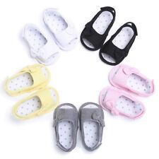 Neugeborenes Kleinkind Mädchen Weiche Sohle Bowknot Sandalen Schuhe Krippe I4Y4