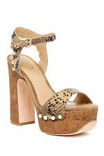 Ash Bacci Block Heel Open Toe Platform Sandal DESERT-WILDE $280 NIB AS-BACCI  40