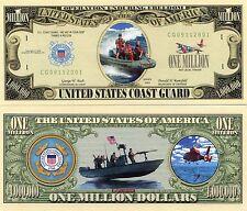 United States Coast Guard 1 Million Dollars Novelty Money