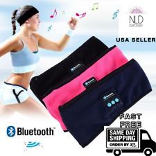 Wireless Bluetooth Headphones Fleece Sleep Headband Music Sleeping and Sports