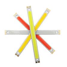120x10mm 12V 10W LED COB Strip lámpara Chip LED Panel luz 4 coloresSE