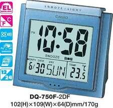 Aussie Seler Casio Travel Clock Dq-750F-2 Dq750 Temperature Light 12 Month Wrnty