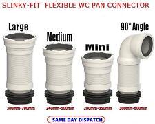 Slinky Fit Pan Pan Connettore Connettore Long-Medium-Mini - 90 °