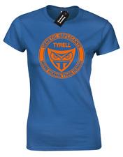 TYRELL GENETIC replicante Damas Camiseta Blade Runner Sci-Fi Película de Culto Retro