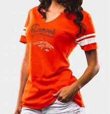 NFL Denver Broncos Women's Majestic Game Tradition Tee - Orange