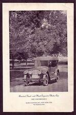 1920 Old Vintage HARES Motors LOCOMOBILE Automobile CAR Photo Print AD