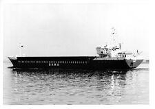 Ship black/white photograph of SILKE in River Medway
