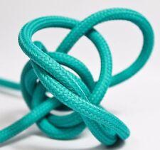 Premium Textilkabel Stoffkabel - 2x0,75 und 3x0,75 - EU Produkt - Grün-Türkis
