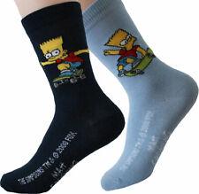 Simpsonssocken Kindersocken Bart Simpson