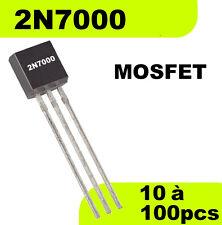 1501# Transistor 2N7000 MOSFET N -- Prix dégressif en fonction de la quantité