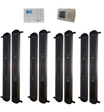 Set di 3B-100 Solare Wireless perimetro TRAVI con Ricevitore & GSM Auto-COMPOSITORE