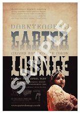 Garter Lounge (6) , Retro Burlesque  advertising Poster reproduction.