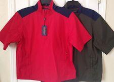 NWT Mens Polo Ralph Lauren Golf Water Resistant Windbreaker Packable Jacket