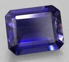 AAA Octagon Bright Blue Lab Created Sapphire (5x3mm-12x10mm)