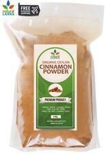 Pure Organic Ceylon Cinnamon Powder- Natural Sri Lankan Alba-Quality True TAJ