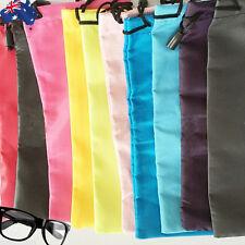 10x 20x Soft Sunglass Eyeglass Pouch Reading Glasses Case Bag Candy JGBAG 18